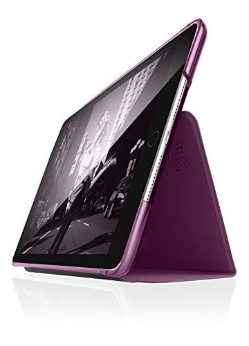 STM Studio case designed to fit Apple iPad 8th/7th Gen, Air 3/Pro 10.5 - Dark Purple (stm-222-161JU-02)