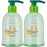 Garnier Fructis Sleek and Shine Anti-Frizz Serum for Frizzy, Dry, Unmanageable Hair, 5.1 Ounce (2 Count)