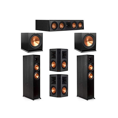 Best Prices! Klipsch 5.2 System with 2 RP-6000F Floorstanding Speakers, 1 Klipsch RP-404C Center Spe...