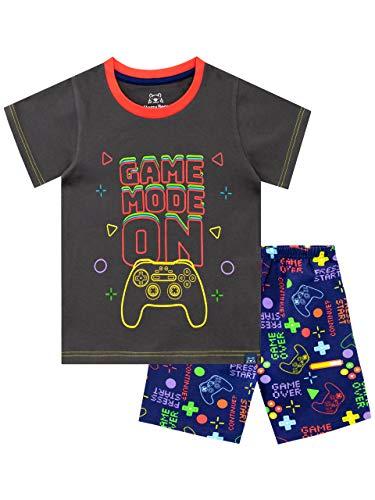 Harry Bear Pijama Corta para niños Videojuegos Multicolor 7-8 Años