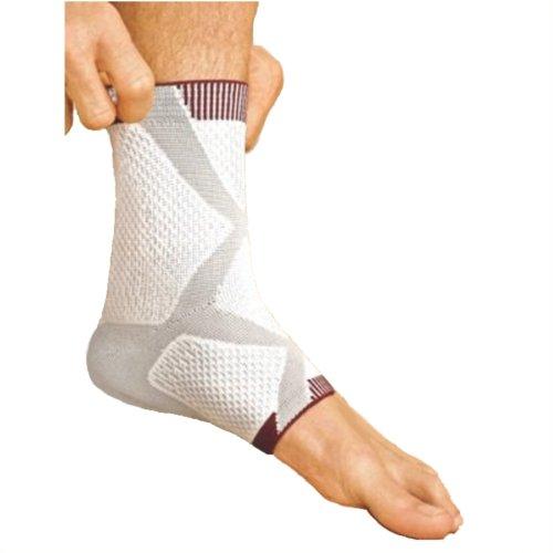 Tricodur TaloMotion Aktiv Bandage weiß/grau rechts Gr. M, Knöchel- und Sprunggelenksbandagen