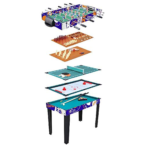 AK Sport MT-2010L - Multi Game Table 10 in 1