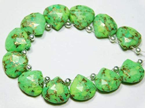 LKBEADS 1 Strand Natural-Mojave Copper H Faceted Max 65% OFF Max 82% OFF Turquoise Green