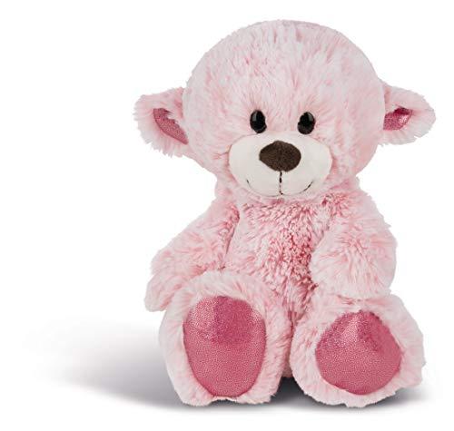 NICI 44427 Kuscheltier Love Bär Wendeplüsch 25cm, pink/beige