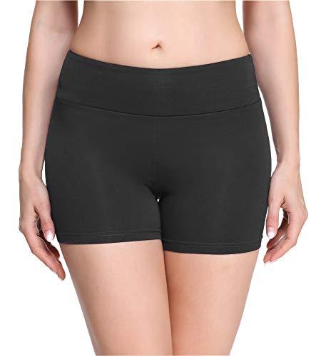 Merry Style Culote de Ciclismo Mallas Cortas Leggins Mujer MS10-284 (Grafito(Shorts), XL)