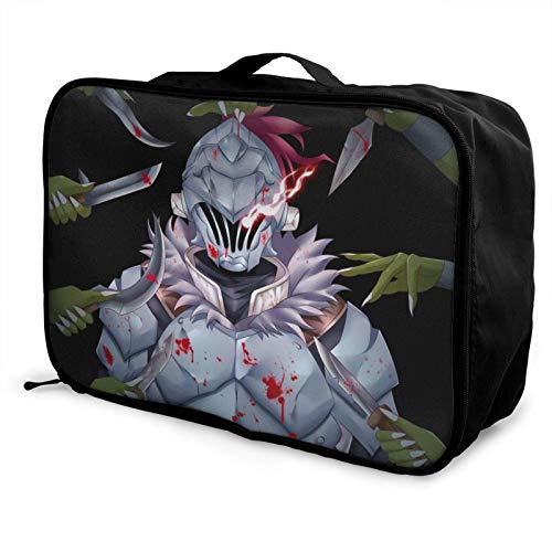 Anime Goblin Lightweight Large Caity Travel Bag, Portable Travel Bag, Lage Trolley Bag, Travel Organizer Bag