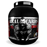 Rich Piana 5% Nutrition Real Carbs | Real Food Complex Carbohydrate Powder, Long-Lasting Low Glycemic Energy for Pre-Workout / Post-Workout Recovery Meal | 65.6 oz, 60 Servings (Banana Nut Bread)