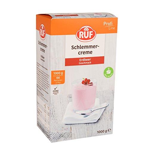 Ruf Schlemmercreme Erdbeer FS, 1.0 kg