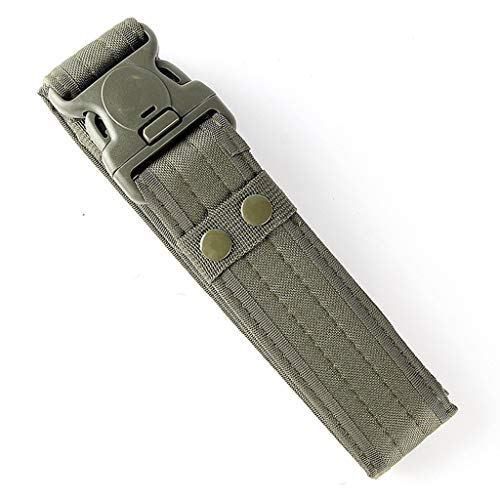 Taktischer Gürtel, Taktisch Gürtel Schwerlast Militär Nylon Web Gurt Riggers Belt, Schnellverschluss Metallschnalle Bund