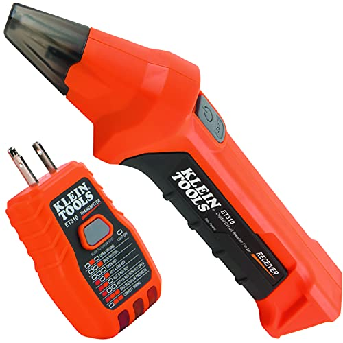 Klein Tools ET310 AC Circuit Breaker Finder with Integrated GFCI...