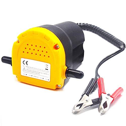 Bomba de transferencia de extractor de aceite eléctrico de coche 12V 60W / aceite de succión de fluidos de aceite de crudo mini bomba de transferencia de extractor de aceite de motor de combustible