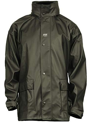 Helly Hansen Men s Impertech II Deluxe Jacket Green Brown, L
