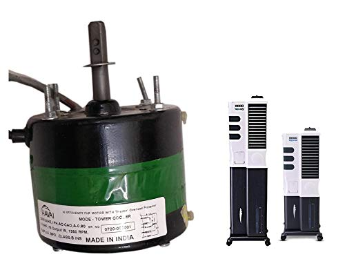 HAVAI Electric Three Speed Motor for USHA Tornado/Tornado ZX Tower Cooler 110 Dia Clockwise