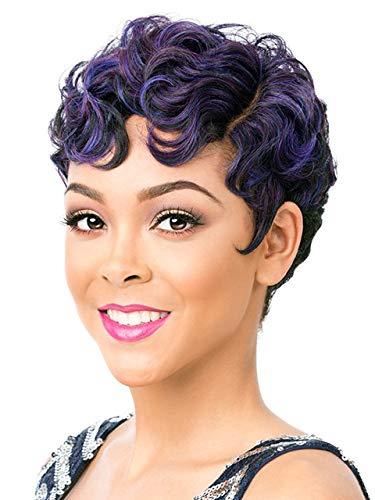 It's A Wig Synthetic Hair Wig Nuna (1B - OFF BLACK)