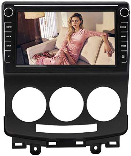 Android 9.1 Unidad de Cabeza DIN DIN DIN Car Stereo para Mazda 5 2005-2010 GPS Navegación GPS Pantalla táctil de 8 Pulgadas Player Multimedia Player