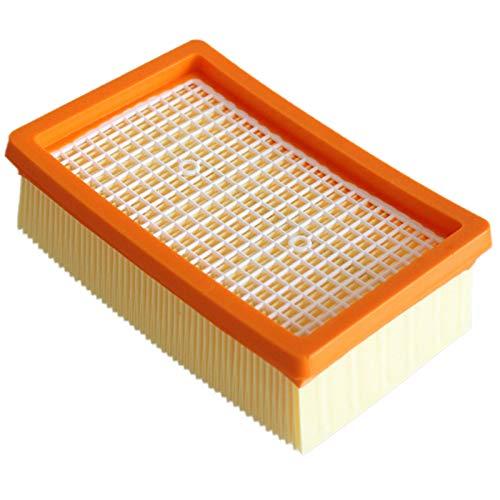 Haude Filtro de 4 Piezas para KARCHER MV4 MV5 MV6 WD4 WD5 WD6 Piezas de Repuesto para Aspiradoras HúMedas y Secas Filtros Hepa