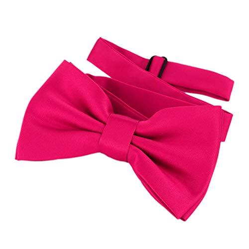 DonDon Fliege Schleife Pink bereits gebunden verstellbar