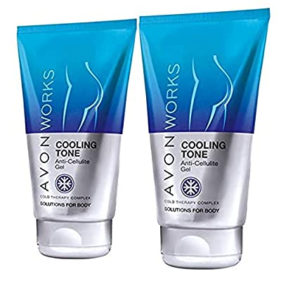 Avon Body Works Cooling Tone Anti-Cellulite Gel by Avon– Pack of 2 x 150ml from Avon