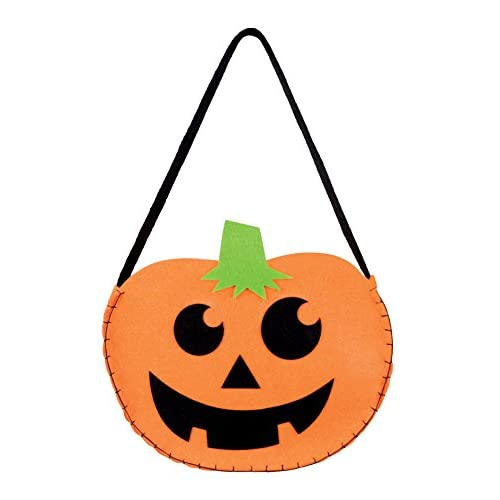 Boland- Borsetta Halloween Zucca per Adulti, Arancione, Taglia Unica, 72021