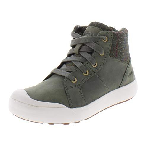 KEEN Elena Mid-Cut Schuhe Damen Climbing ivy/Plaid Schuhgröße US 6 | EU 36 2019