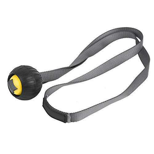 DAUERHAFT Muskelmassageball Hochzuverlässige professionelle Herstellung, zum Aufwärmen, Unterstützung der Muskelmassage nach dem Training(Yellow)