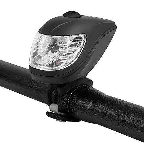 Hwenli Hell Fahrrad-Licht, Angreifen USB-LED Sicherheits-Wasserdichter Fahrrad-Licht Quick Release Clip Fahrrad Frontleuchte Mit 5 Modi Warnung
