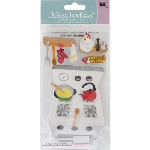 Jolee's Boutique Dimensional Stickers, Cooking