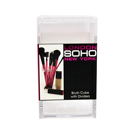 London SOHO New York Brush Cube with Dividers by La Fuerza Michigan