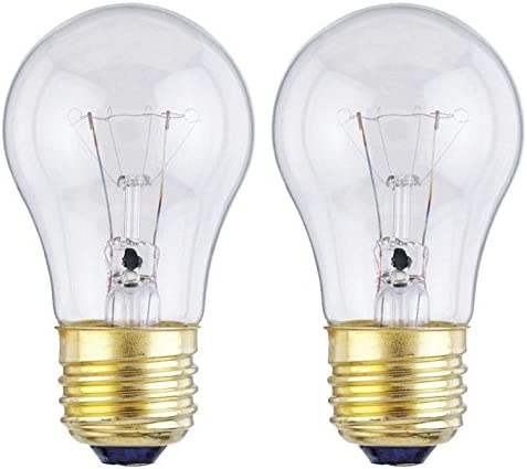 Price reduction Large discharge sale 40-Watt Incandescent A15 Appliance 2-Pack Clear Bulb