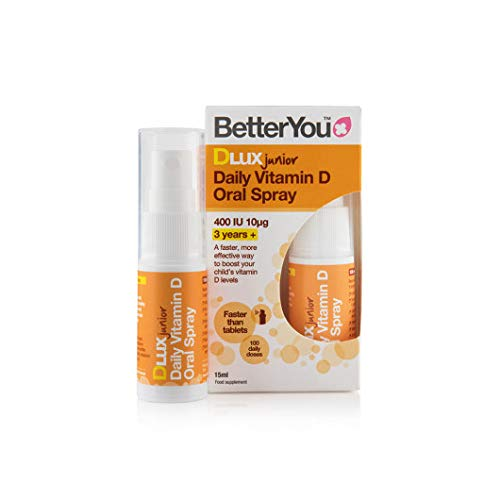 BetterYou DLux Junior Daily Oral Spray 15ml (Pack of 6)