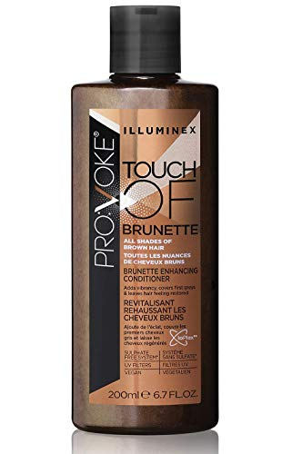 Pro:Voke Deep Conditioner Hair Mask for Dry Damaged Hair – Colour Depositing Conditioner for All Shades of Brown – Sulfate Free Hair Conditioner