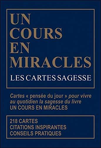 Les Cartes sagesse d'Un Cours en miracles - Coffret