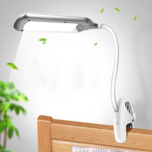 Lampe de table F Lampe de bureau LED 10W Lecture, Lampe de chevet, Commutateur tactile, Dimmable, Série: MT-2225A, Blanc