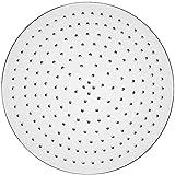 GRIFEMA G832 - Rociador de ducha, alcachofa lluvia, 30x30 cm, Grande, Acero Acero inoxidable, 30 x 30 cm, Plateado [Exclusiva Amazon]