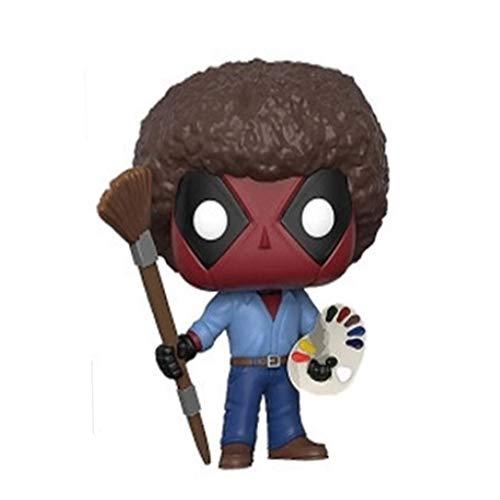 ZEwe Pop Deadpool Divertido Mini Q Versión 3.9inches Acción de colección Figura PVC EP PVC