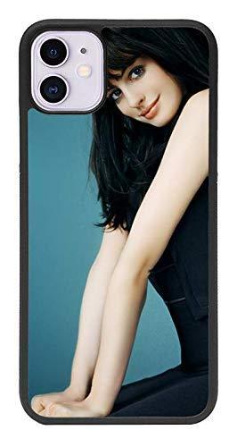zoilastore Funda Personalizada de móvil para Apple iPhone 11 de Goma Flexible TPU Borde Negro CREA tu diseño con imagenes y Texto