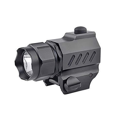 TrustFire G02 LED Tactical stund Gun Flashlight 2-Mode 210LM Pistol Handgun Torch Light for Picatinny MIL-STD-1913 STANAG 2324 Rail (G01)