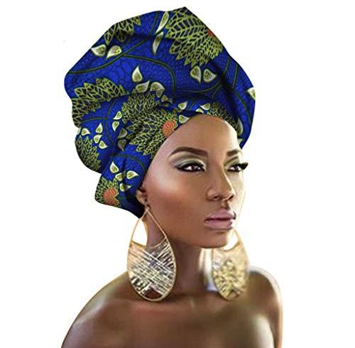 Traditionelle afrikanische Kopftuch-Krawatte, mehrfarbig, Urban Damen-Haar-Accessoire, Stirnband, Kopftuch (TTJ32)