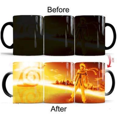 Imagine Anime Cartoon afbeelding van kleur veranderende kop keramiek koffie mark water mok 301-400 ml Uzumaki Naruto