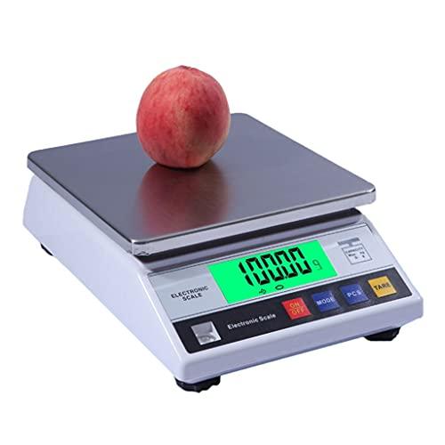 WZ 1G 0.01G Balanza Analítica Laboratorio Electrónica Báscula Alta Precisión Comercial Pesaje Precisión Cocina con Función Conteo Y Tara (Size : 1kg/0.01g)