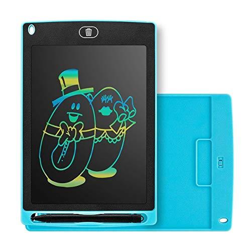 Anam Safdar Butt Tableta de Escritura LCD Inteligente portátil de 8.5 Pulgadas Bloc de Notas electrónico Tablero de Escritura con gráficos de Dibujo Tablero Ultrafino - Azul