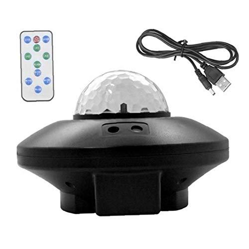 Kacniohen LED proyector de Estrellas del Cielo proyector de la lámpara de Noche con Bluetooth Remote Control Agua de la Llama para el hogar Cubierta Uso