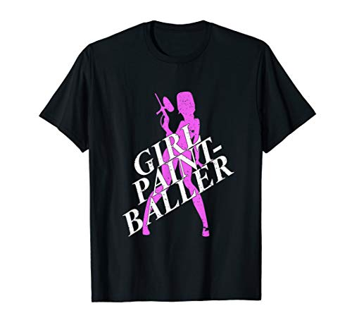 Funny Paintball Paintballer Tactical Sport Gear T-Shirt