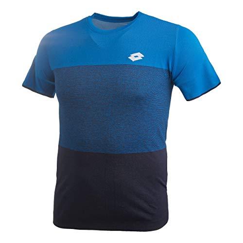 Lotto - Tennis-T-Shirts für Herren in Blau, Größe XL