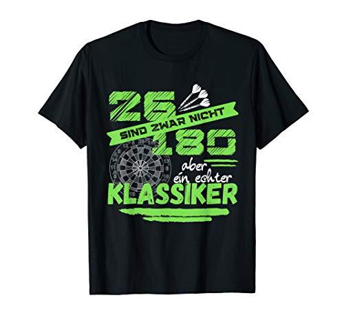 26 sind zwar nicht 180 - aber ein echter Klassiker! Dart! T-Shirt