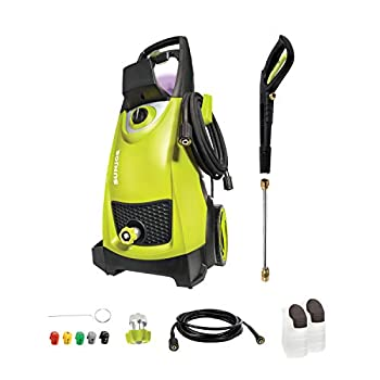Sun Joe SPX3000 2030 Max PSI 1.76 GPM 14.5-Amp Electric High Pressure Washer Cleans Cars/Fences/Patios