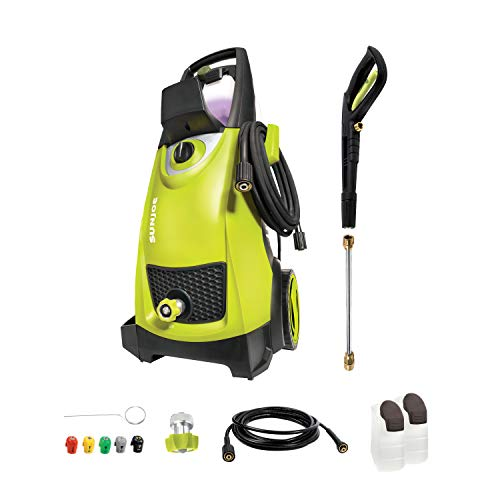 Sun Joe SPX3000 2030 Max PSI 1.76 GPM 14.5-Amp Electric High Pressure Washer,...