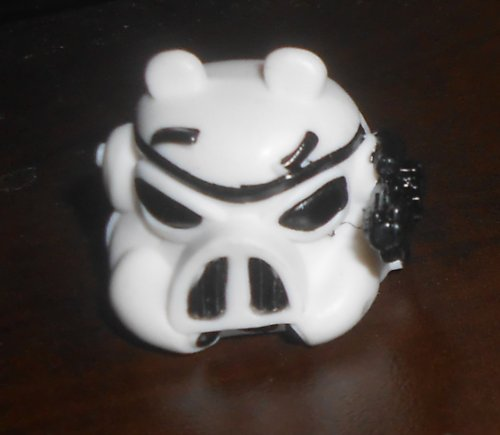 Star Wars - Angry Birds - Stormtrooper Pig Figure (Series 3) TELEPODS