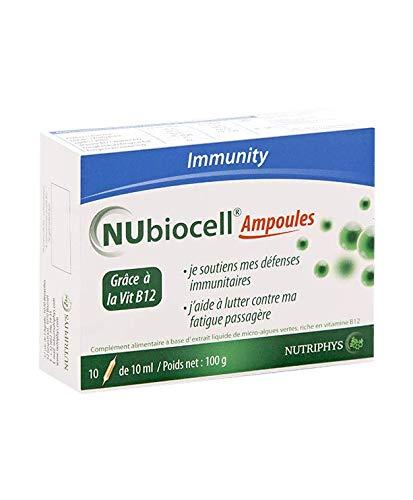NUBIOCELL 10 AMPOULES - CGF extrait - Défenses immunitaires - Fatigue passagère
