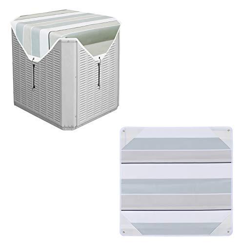 Xiolanniy Copertura quadrata per aria condizionata, copertura universale per unità di condizionamento mobile/aria condizionata mobile, protezione AC, adatto per fino a 71x71cm